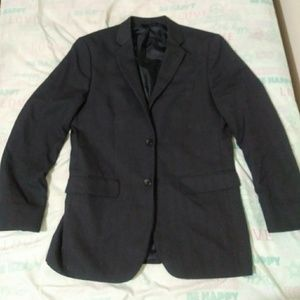 Banana republic suit jacket size 40r blue plaid